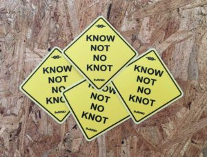 Swaygo Know Not No Knot Sticker
