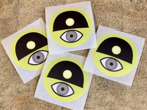 Swaygo Cyclops Fundraiser Sticker